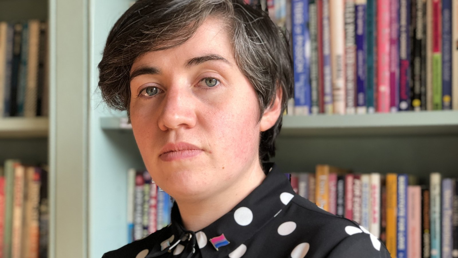 Image - Clodagh Leonard, from Co Mayo, a member of the LGBTQ community