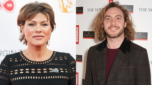 Taking to the dancefloor - Kate Silverton and Seann Walsh