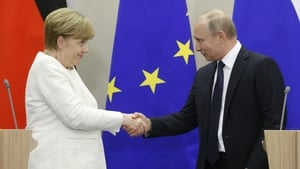 The two leaders last met in Sochi in May and struggled to overcome differences