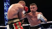 Frampton goes to work on his opponent