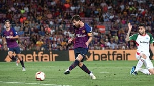 Messi opened his season's account with a brace against Alaves