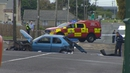 Gardaí are investigating the crash and the road is currently closed
