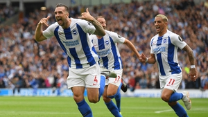Shane Duffy is expecting a busy day at the office as Brighton look to get a result against Man City