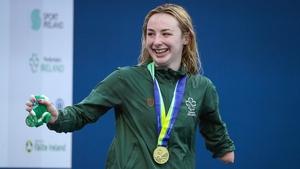 Ellen Keane with her gold medal