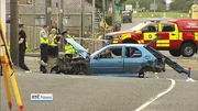 Nine News (Web): Man questioned after two people die in Donegal road crash