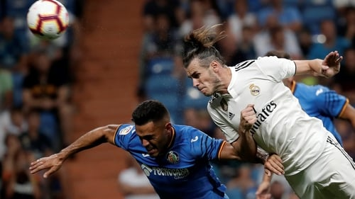 Bale was on target for Madrid