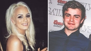 Shiva Devine and Conall McAleer died when the car they were passengers in hit a wall (Pics: Facebook)