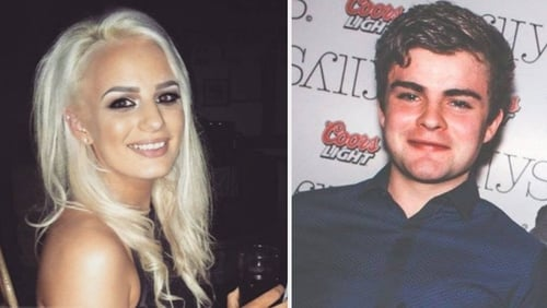 Shiva Devine and Conall McAleer died in the crash