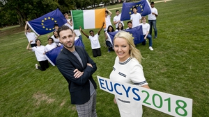 Prof Peter Taylor and Grace O'Connor announce details of the EUCYS