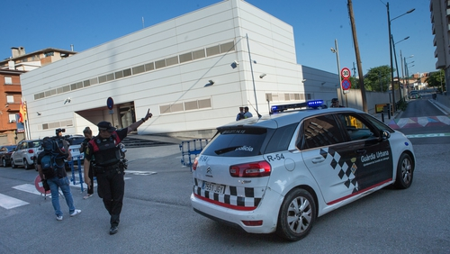 Man shot dead at Spanish police station in possible terror attack
