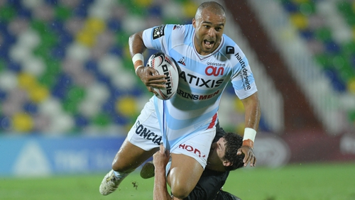 Zebo says he is happy to play in a number of positions in a star-studded Racing 92 backline