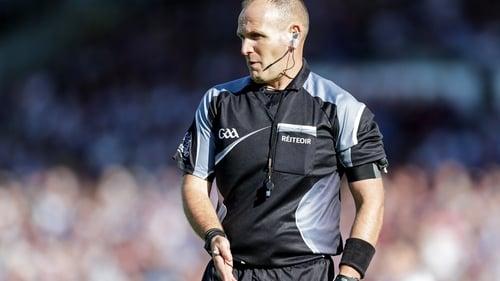 Conor Lane will referee his second final