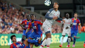 Virgil van Dijk played a starring role for Liverpool against Crystal Palace