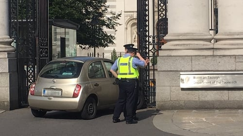 The woman is being held at Pearse Street Garda Station for questioning