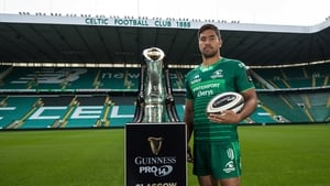 Jarrad Butler at the launch of the new Pro14 season today in Glasgow