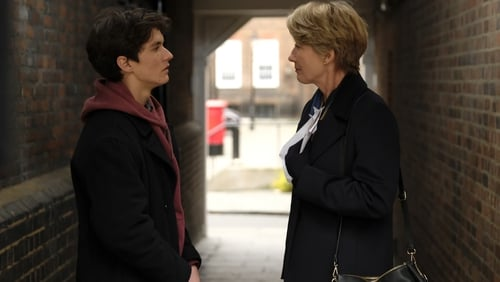 Fionn Whitehead and Emma Thompson in The Children Act
