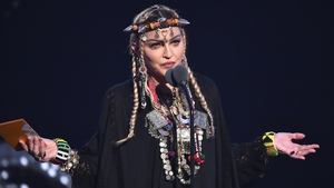 Madonna's speech at the MTV Video Music Awards provokes scathing reaction online
