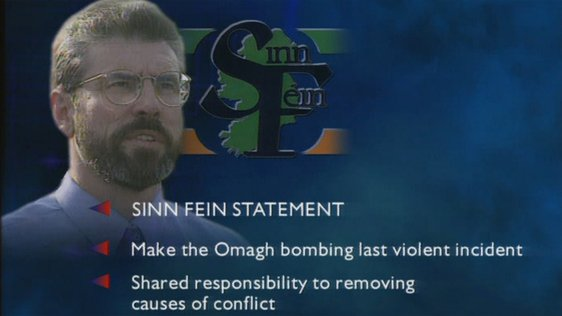 Gerry Adams and Sinn Féin Statement for Peace (1998)