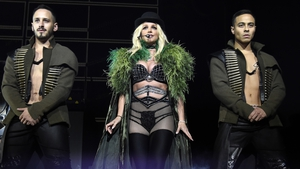 Britney Spears played in Dublin on Monday night