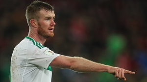 Chris Brunt, 33, has retired from the international game