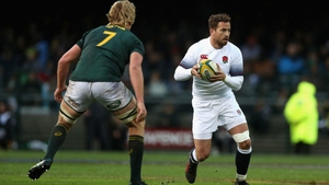 Danny Cipriani's appearances against South Africa in June were his first Test caps since 2015