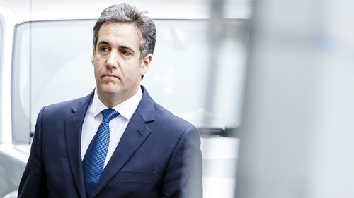 Cohen was sentenced to three years in jail on 12 December after pleading guilty to tax evasion, making false statements and illegal campaign contributions