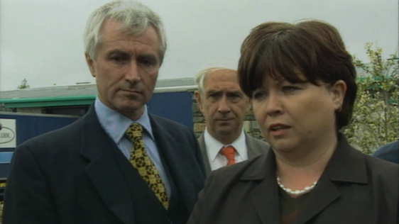 Jim McDaid and Mary Harney