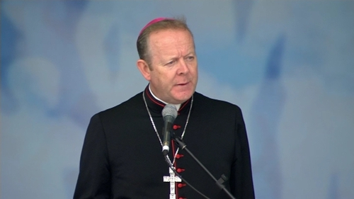 Archbishop Eamon Martin was speaking at the World Meeting of Families in Dublin