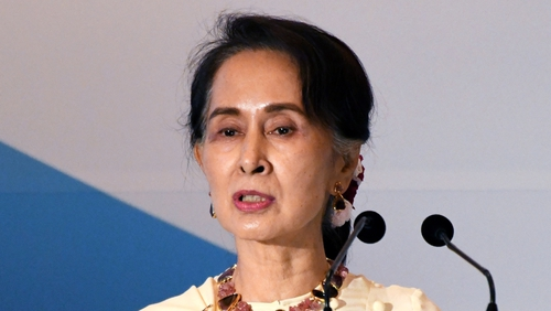 'Profoundly dismayed': Amnesty strips Suu Kyi of top honour