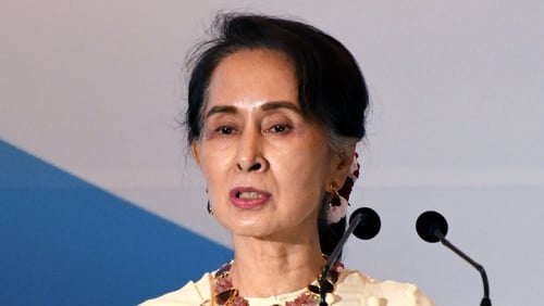 Aung San Suu Kyi has had other honours withdrawn, including the freedom of the city of Dublin