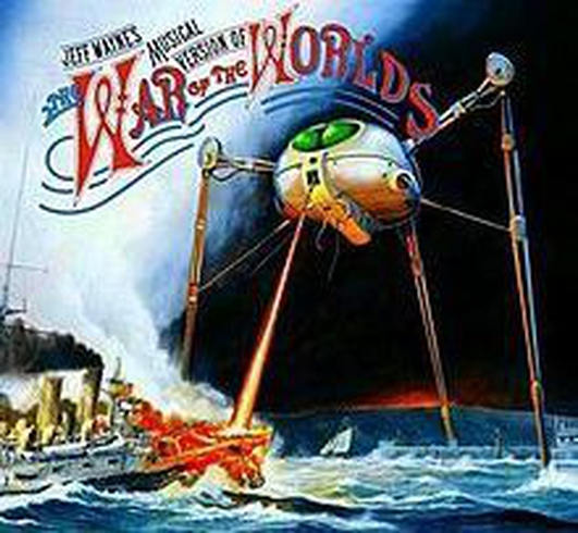 """40th anniversary of """"War of the Worlds"""" by Jeff Wayne"""
