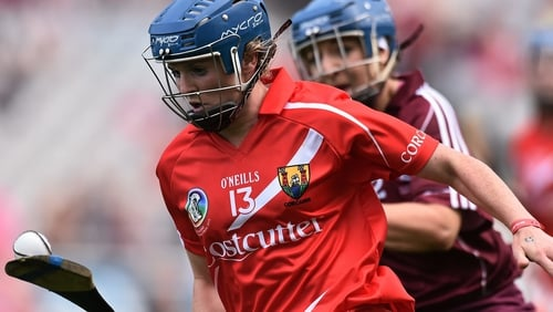 Briege Corkery made a brief appearance in the semi-final