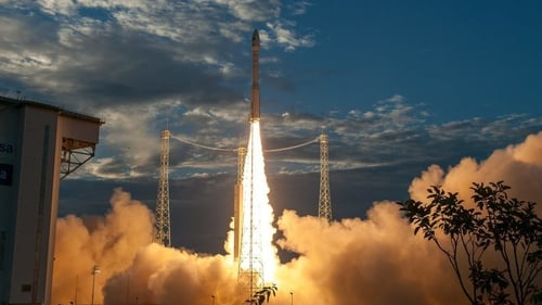 Aeolus launched from French Guiana (pic: ESA/Arianspace/CNES)