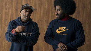 Spike Lee and John David Washington