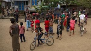 More than 129,000 Rohingya Muslims remain in camps in Myanmar's Rakhine state