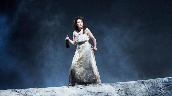 Susan Lynch as Hester Swane in the Abbey Theatre's 2015 production of Marina Carr's By the Bog Of Cats
