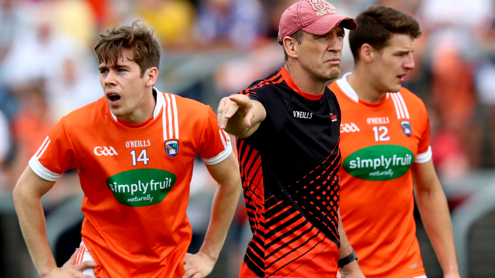 Image - Kieran McGeeney's Armagh team reach the fourth round of qualifiers this summer