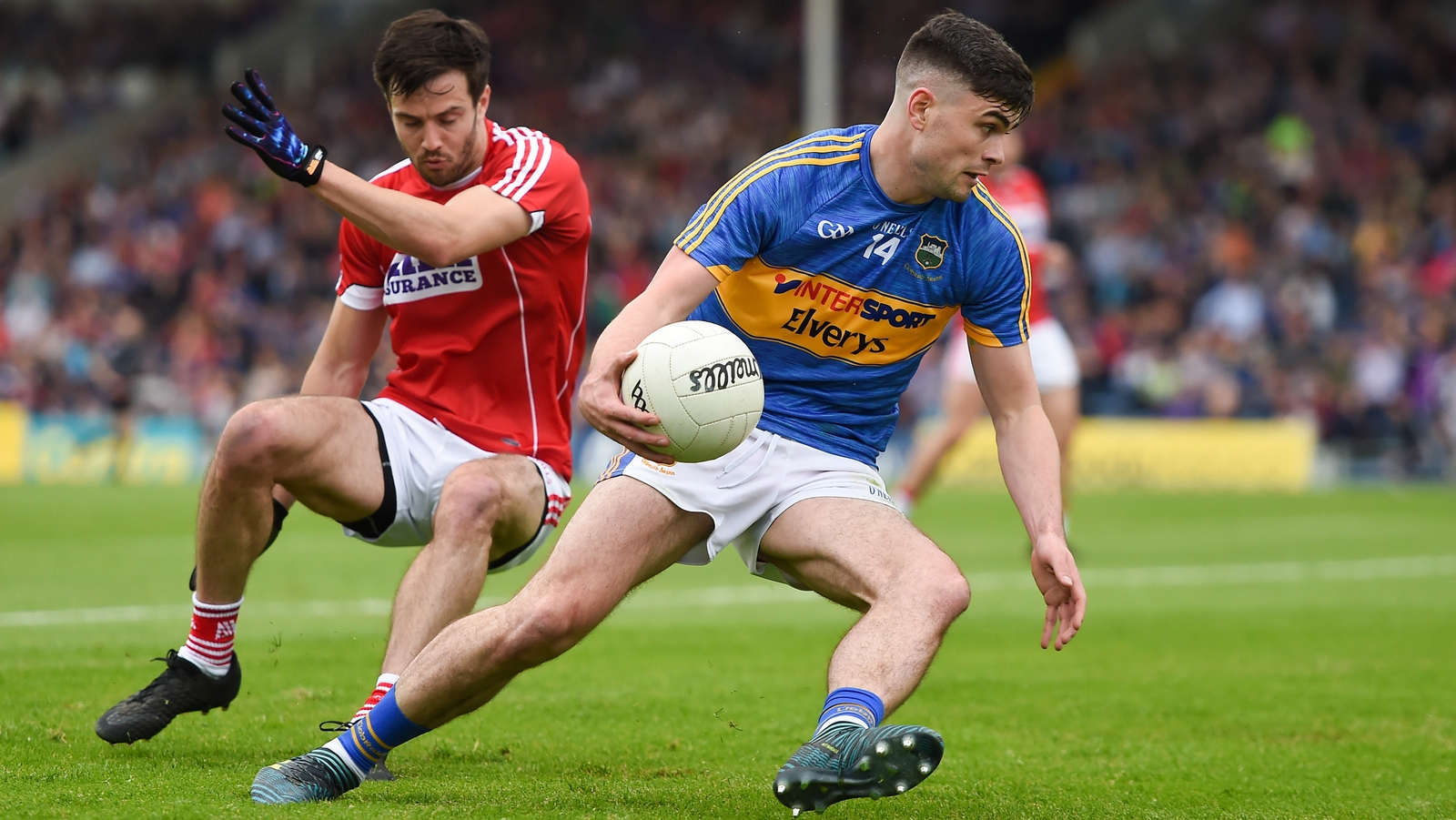 Image - Michael Quinlivan in action for Tipperary during this year's Championship