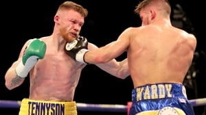 James Tennyson inflicted Martin Ward's first pro defeat in May