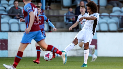 Bastien Hery's early goal was enough to give Waterford victory in Drogheda