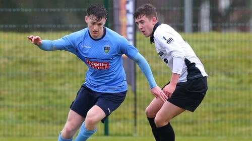 Jason McClelland (pictured against QUB) rescued UCD in the final minute of normal time against CIE Ranch