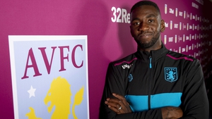 Yannick Bolasie (L) is off to Villa Park
