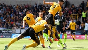 Willy Boly 'heads' home the opener for Wolves