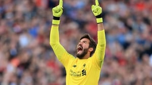 "Alisson: ""I'm on a good way, I think we are nearly there."""