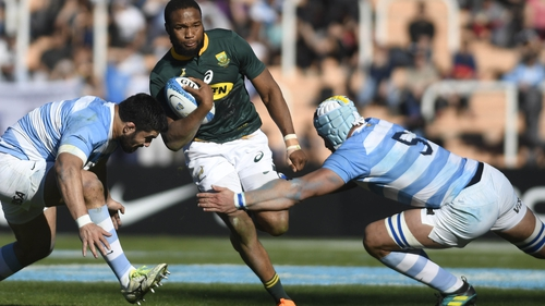 Aphiwe Dyantyi is already out of the World Cup with a hamstring injury
