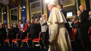 Pope Francis met survivors of abuse for over 90 minutes this evening