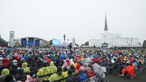 Around 45,000 people attended the event at Knock Shrine
