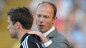 Shearer briefly managed Owen in the autumn of his career