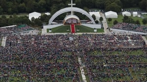 Tens of thousands of people attended the Papal Mass