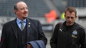 Rafael Benitez has held positive talks on his Newcastle future
